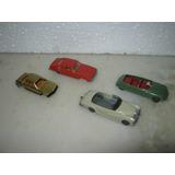 Lote 4 Autos, Camioneta Y Camion En Estado Chatarra Esc H0