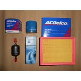 Kit Filtro Aceite Aire Nafta Acdelco Chevrolet Corsa 1.4 1.6