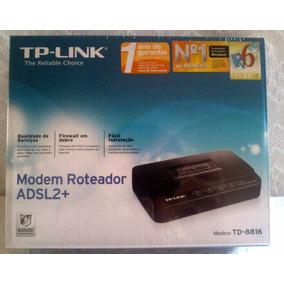 Modem Adsl2+ Tp-link Td-8816 Aceita Todas As Operadoras