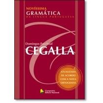 Livro - Novíssima Gramática Da Língua Portuguesa: Novo Acord