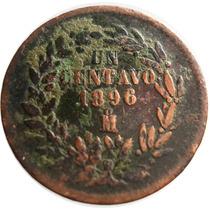 1 Centavo Juárez 1896 República Mexicana - Variedad