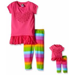 Conjuntos Para Niña Y Muñeca Como American Girl T6, 8, 10 12