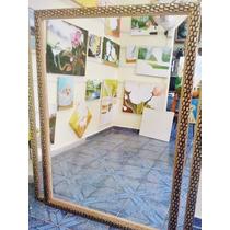 Espelho Grande 150x100cm C/moldura Frete Grátis P/gd S Paulo