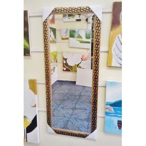 Espelho Grande 120x50cm C/ Moldura Frete Grátis P/gd S Paulo