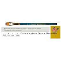 Pincel Para Carga Dupla / One Stroke Keramik 715-2 E 715-4