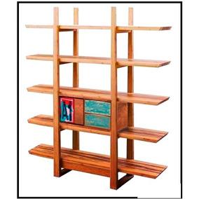 Estanteria madera moderna en mercado libre argentina for Estanteria madera maciza