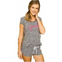 Pijama Short Con Remera Promesse Art 10126 Talle S A Xl Dor
