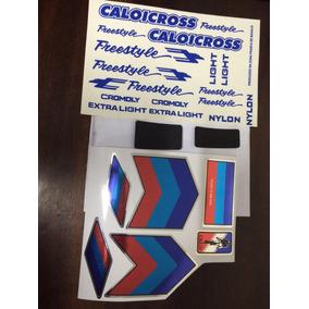 Adesivo Caloi Cross Freestyle +lixa Auto Colante