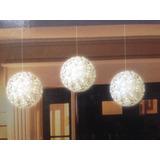 Set De Tres Esferas Led Blancas