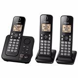 Telefone Panasonic Tgc363 Sem Fio/ 3 Aparelhos/ Bina/ Atende