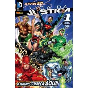 Liga Da Justiça - Os Novos 52 - 1 À 7