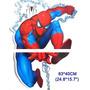 Sticker Pared Spiderman Hombre Araña Decoracion Cuarto Niño