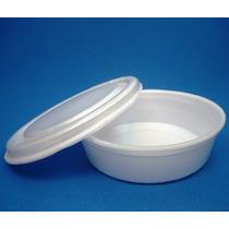 Embalagens P/alimentos (marmitex)n8 De Isopor 850 Ml Com 100