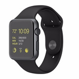 Apple Watch Mj3t2ll/a 42mm Negro Aluminio Sport Caja Abierta