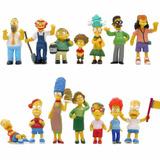 Los Simpsons Colección X 14 Figuras