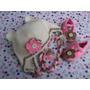 Zapatitos Y Gorritos En Juego Tejidos Crochet Para Bebe.012