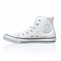 Zapatillas Botas Converse All Star Cuero Blanco (138419)