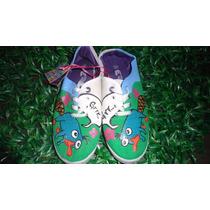 Zapatos Pintados A Mano Perry El Ornitorrinco 80% Descuento