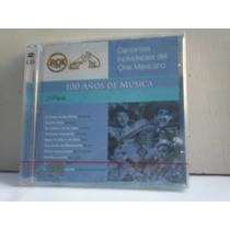 Cantantes Inolvidables Del Cine Mexicano. 100 Años. 2cd.