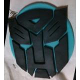 Adorno Torta Transformers En Porcelana Fria