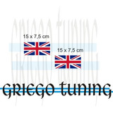 Tun Adhesivo X Morris Bajo Puerta Banderas Inglesas