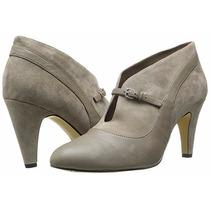 Zapatos Botin Mujer Americanos 6 Color Gris Piedra Talla 36