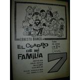 Publicidad Clipping Television Ernesto Bianco Canal 7 Dibujo
