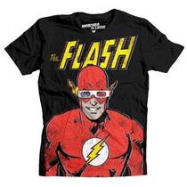 Playera Flash 3d Mascara De Latex Dc Comics