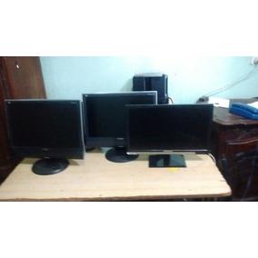Monitores Lcd 19 Excelentes 1 M Garantia