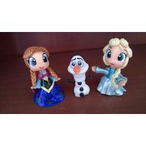 Frozen:elsa, Anna Y Olaff ! Malu Porcelana Fria