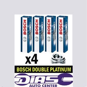 Jogo De Velas Bosch Double Platina Golf Gti 2.0 Tsi 220 Cv