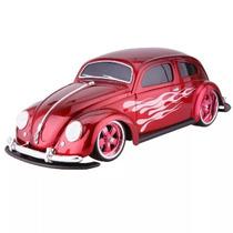 Carrinho Rc Volkswagem Fusca Tunado 1951 R/c 1:10 Maisto