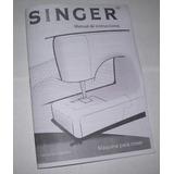 Manuales De Singer Florencia 68-67-65-63-62. Fiel