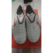 Chuteira Campo Nike Tiempo Legend Iii - Branca - Total 90