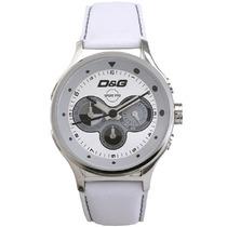 Relógio Dolce Gabbana Original Pulseira Em Couro Sem Caixa