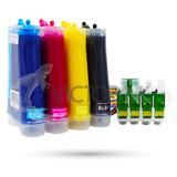 Sistema De Tinta Xp 201-xp 211+kit 4 Tintas Dye Epson 400 M