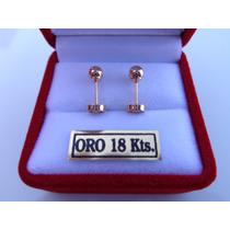 Aritos Abridores #2 Oro 18k---envios Gratis---merlinjoyas---