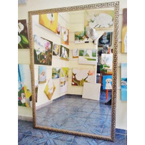 Espelho Grande 200x100cm C/moldura Frete Grátis P/gd S Paulo