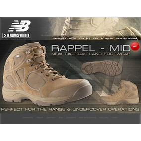 New Balance Rappel Bota Tactica Militar 5, 6, 6.5, 8 Y8.5mx