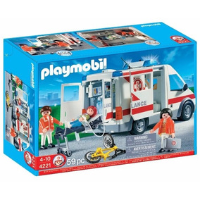 Playmobil 4221 Hospital Ambulancia - Jugueteria Aplausos