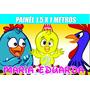 Painel Festa Infantil Personalizado C Nome E Idade Qqr Tema