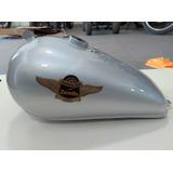 Tanque Zanella Patagonia Gris Plata Original. Panther Motos