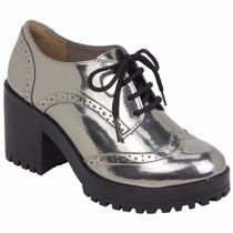 Sapato Oxford Feminino Via Marte 17-6499