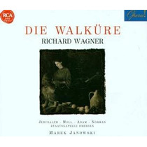 Opera Richard Wagner Die Walkure 4 Cd Disco Valquiria Vv4