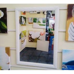 Espelho Grande 90x55cm C/ Moldura/ Enviamos Para Todo Brasil
