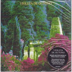 Cd Violeta De Outono - 1987 - Importado - 4 Bônus - Lacrado