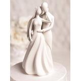 Topo De Bolo - Noivinhos De Porcelana