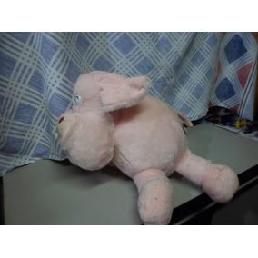 Porco De Pelucia Usado 25 Cm