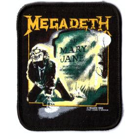 Patch Estampado - Megadeth - Mary Jane (p29) - Importado