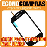 Touch Screen Para Samsung Gt-s6810m Fame Negro 100% Nuevo!!